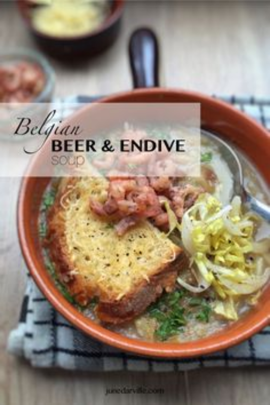 Belgian Beer and Endive Soup