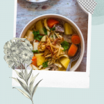 German Spätzle Noodle Soup