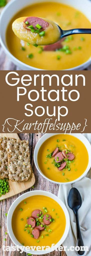 Kartoffelsuppe German Potato Soup
