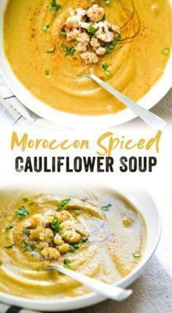 Spiced Cauliflower Chowder