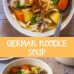 Best German Noodle Soup