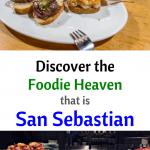 Delicious San Sebastian Dinner if Pintxos and Wine