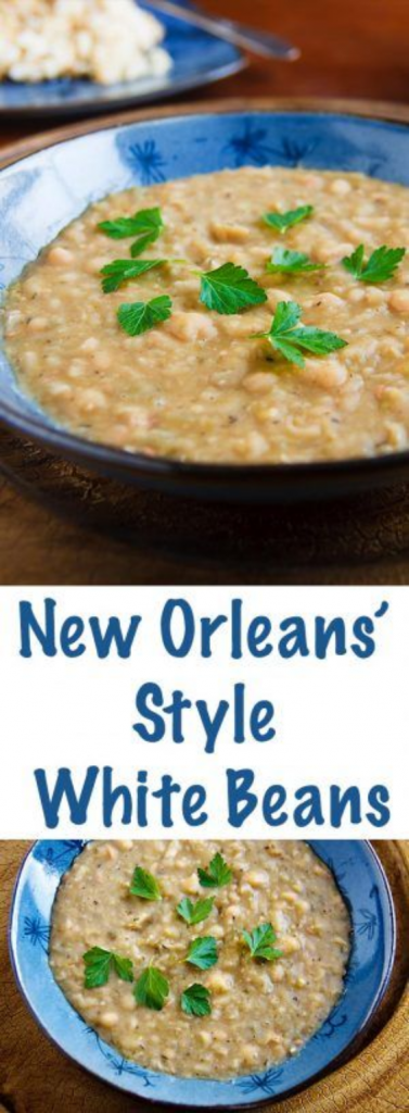 New Orleans Style White Beans