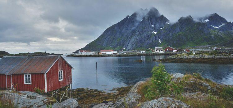Scandinavian Fishing Lodge