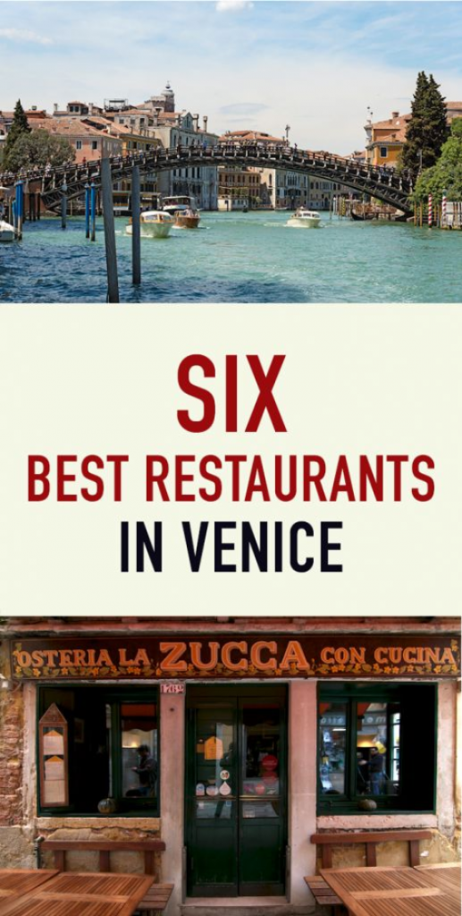 Pin for Six best Eateries in Venice