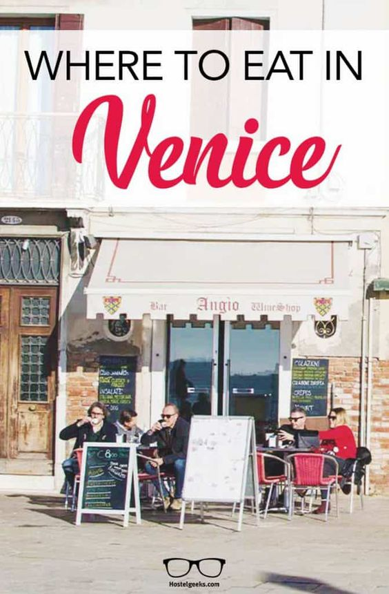 Pin for Where to eat in Venice