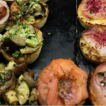 A Table laden with delicious ventian cicchetti