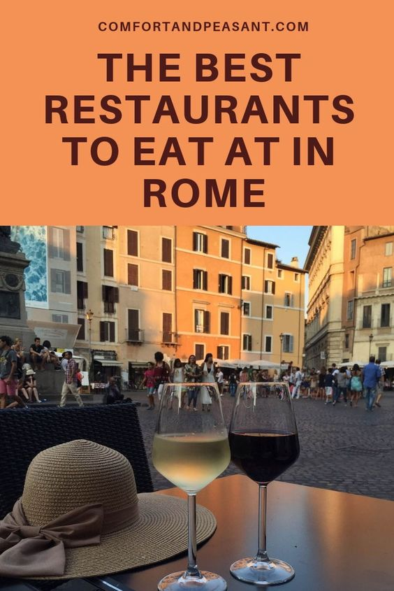 Best Restaurants to Eat in Rome