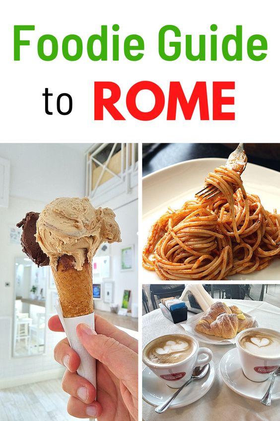 Foodie Guide to Rome