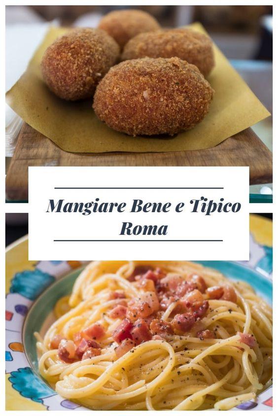Mangiare Bene e Tipico Roma