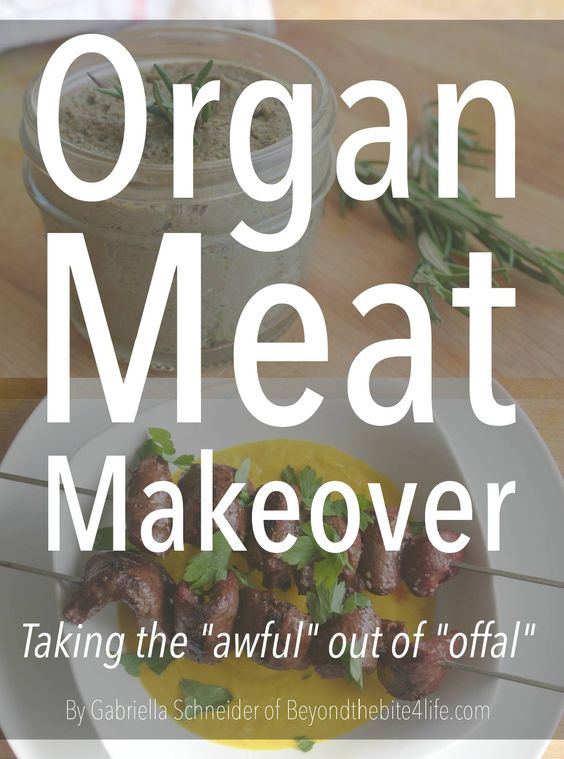 Organ Meat Makeover