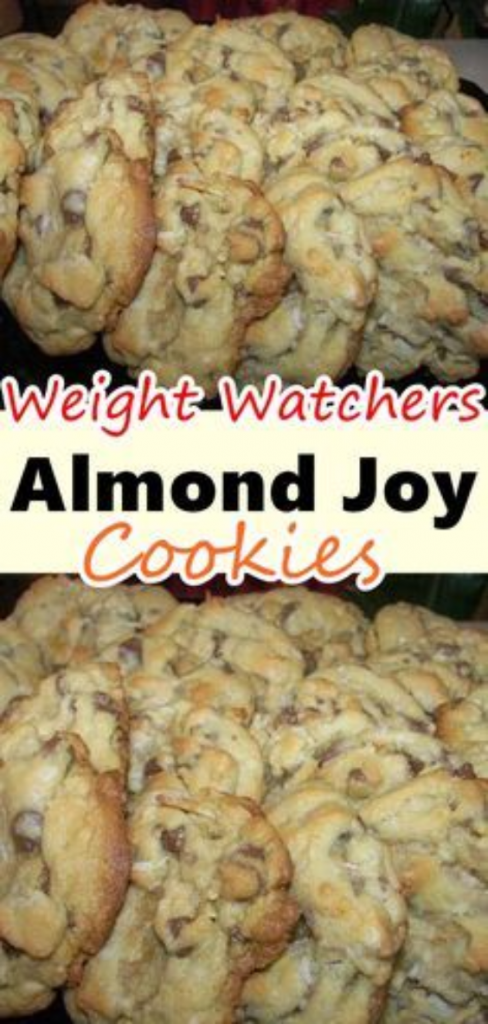 Weight Watchers Almod Joy Cookies