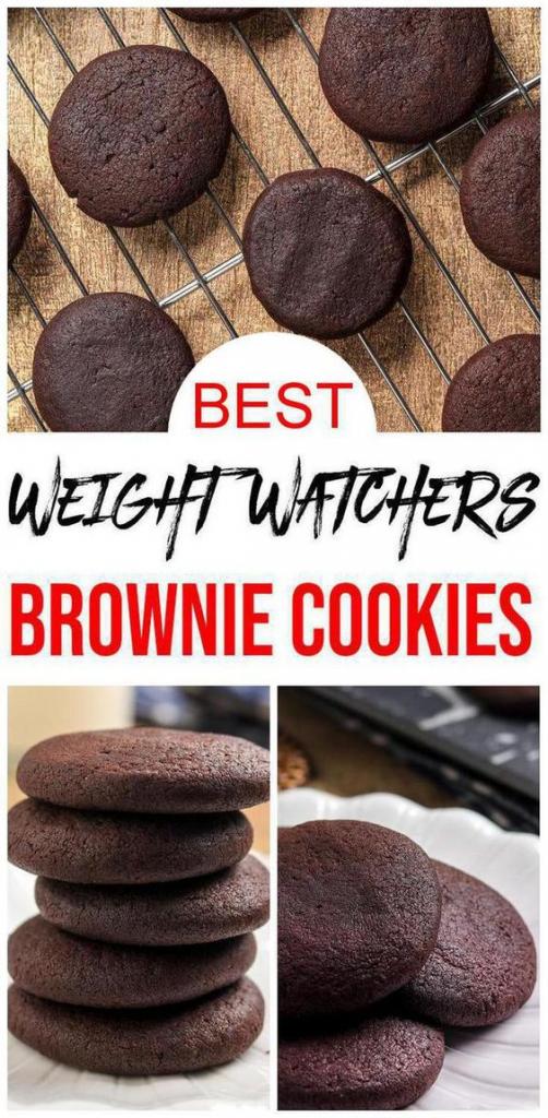 Weight Watchers Brownie Cookies