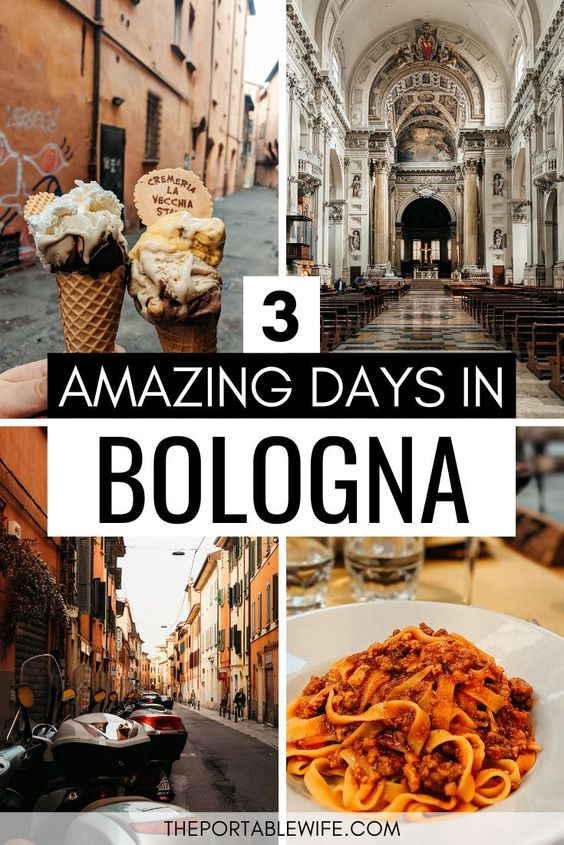 3 Amazing Days in Bologna