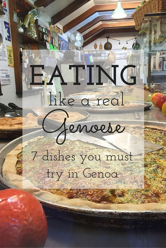 7 Genoese Dishes