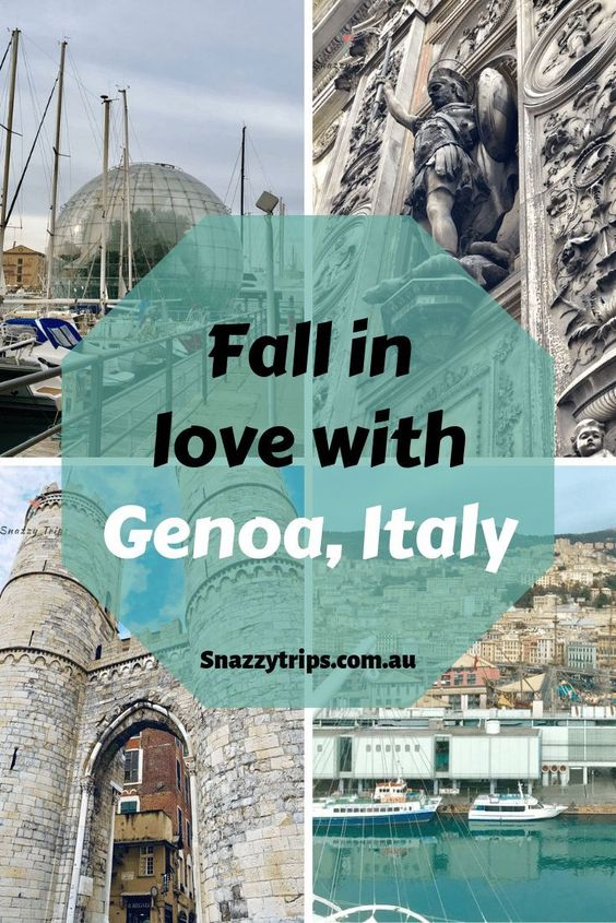 Fall in Love with Genoa