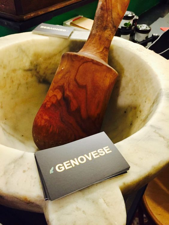 Genovese Mortar and Pestle