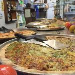 Genovese Pizza Huge Silver Platters