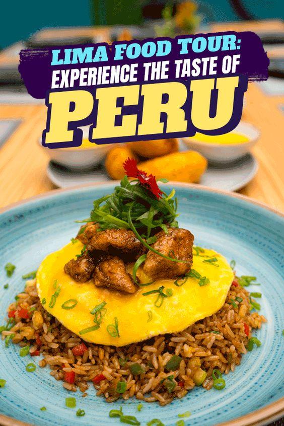 Lima Food Tour Taste Peru