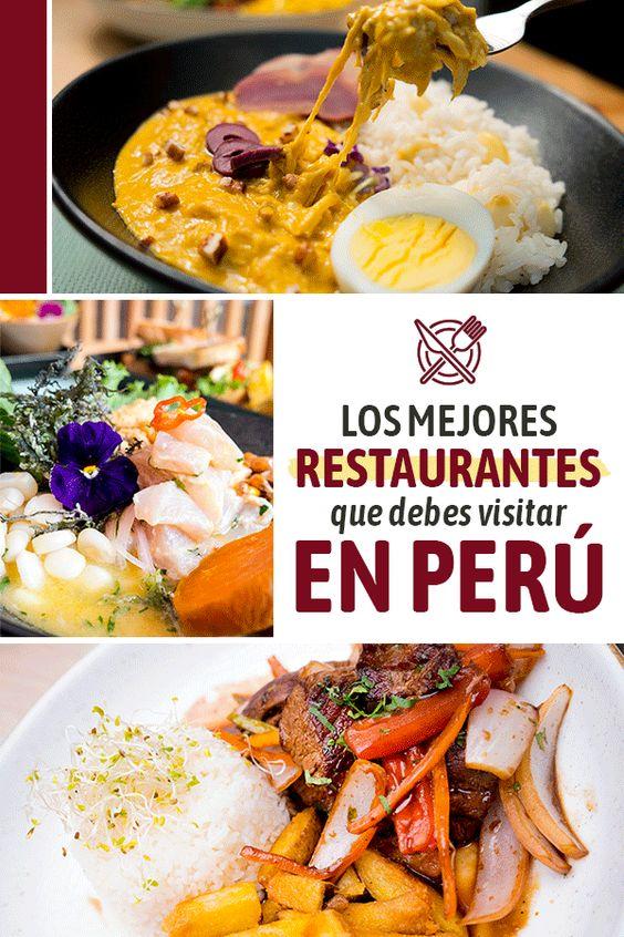 Los mejores restaurantes en peru