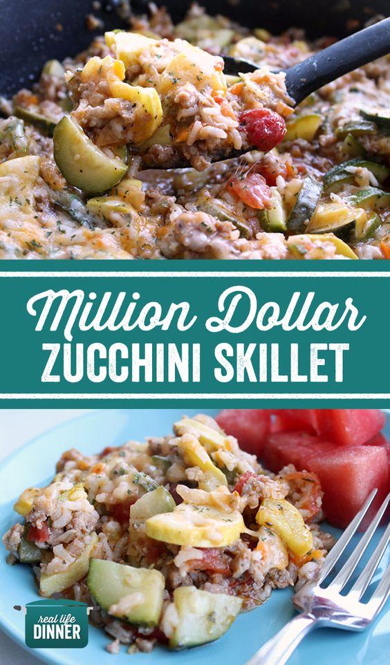Million Dollar Zucchini Skillet