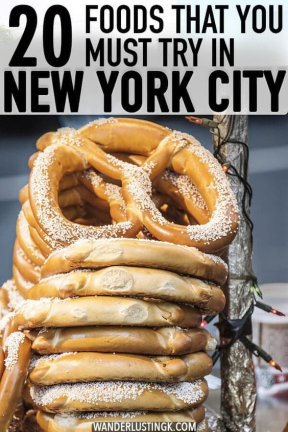 20 Foods to try in New York City