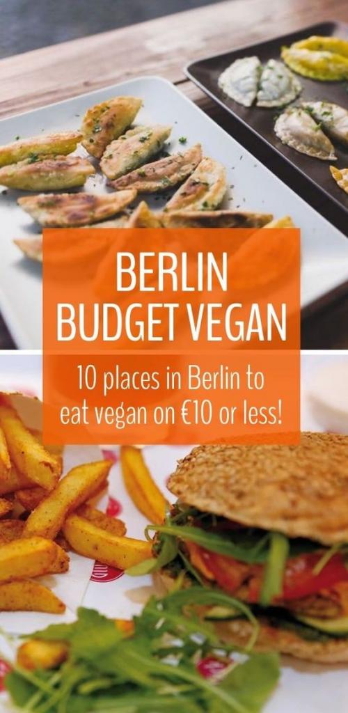 Berlin Budget Vegan