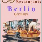 Berlin Restaurants Wholesome Food