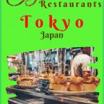 Best Restaurants in Tokyo for Japanese Food