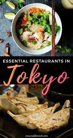 Essential Restaurants in Tokyo