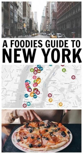 Foodie Guide to New York