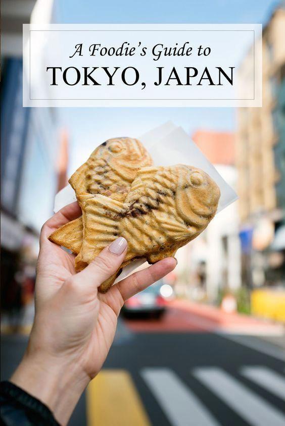 Foodie Guide to Tokyo Japan
