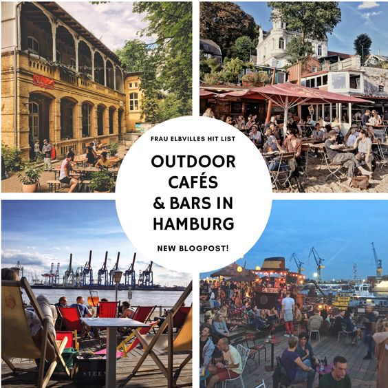 Outdoor Cafes and Bars in Germany