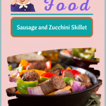 Sausage and Zucchini Skillet Fry