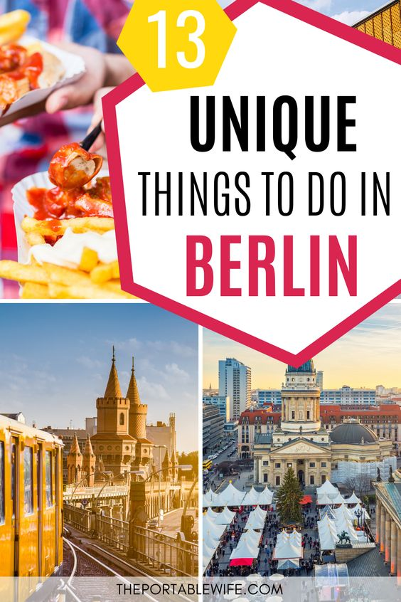 Unigue Things to do in Berlin