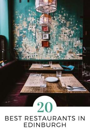 20 Best Restaurants in Edinburgh