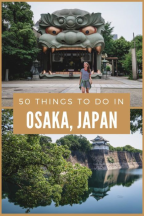 50 Things to do in Japan's food city
