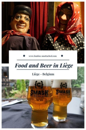 Food and Beer in Liege