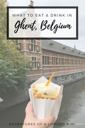 What to eat in Belgium