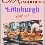 Edinburgh Canonage Greyfriars Restaurants