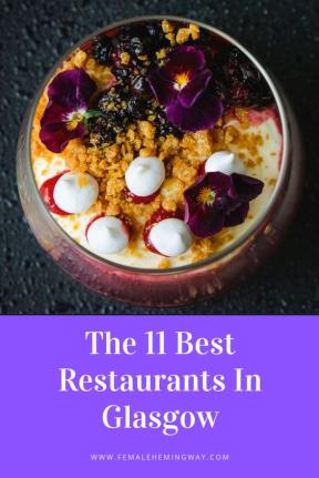 11 Best Restaurants in west Scotland