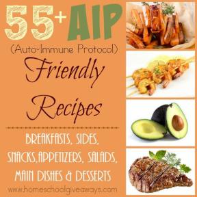 55+ AIP Autoimmune Friendly Recipes