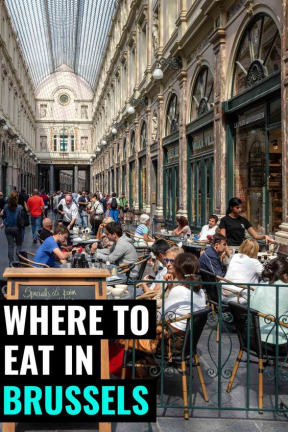 Best Places to for Eating Brussels