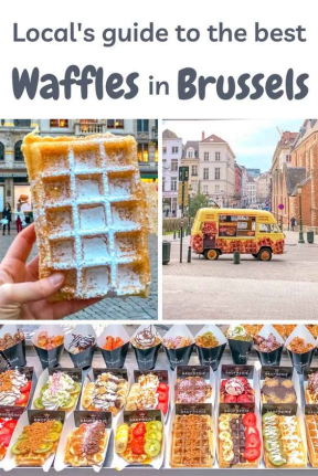 Local guide to Waffles in Brussels