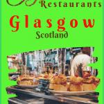 Real Glaswegian Food in Glasgow Restaurants