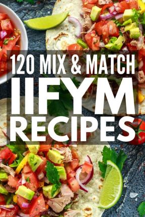 20 Mix n Match IIFYM Recipes