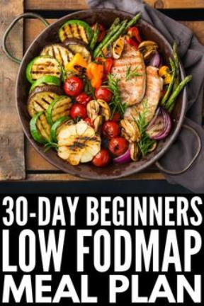 30 Day Beginners Fodmap Meal Plan\