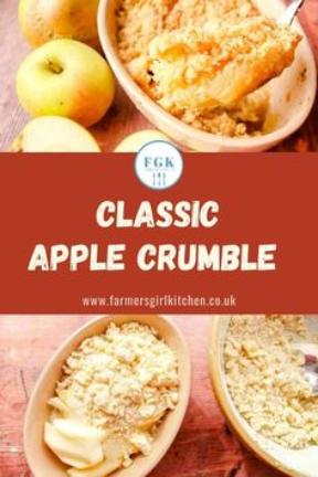 Classic Apple Crumble scptland desserts
