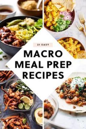 Macro Meal Prep Recipes