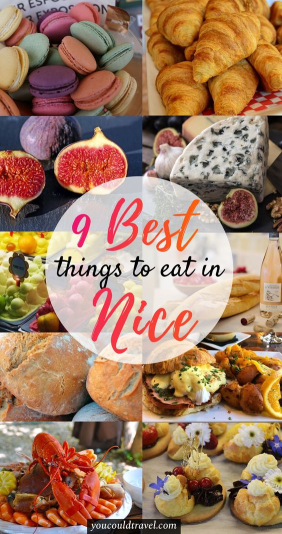 9 Best things to Eat in Nice at the best restaurants in Nice